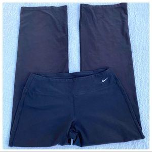 Nike Dry Fit Flare Leg Yoga Lounge Jog Pants